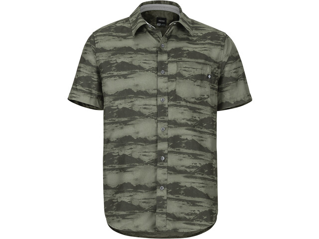 Marmot Syrocco Chemise manches courtes Homme, crocodile mountains
